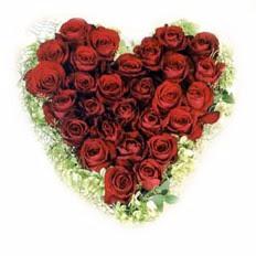 kalp biçiminde 15 gülden   Bayburt güvenli kaliteli hızlı çiçek