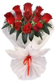 11 adet gül buketi  Bayburt internetten çiçek siparişi  kirmizi gül