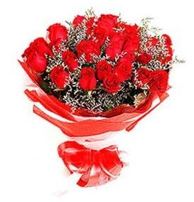 Bayburt çiçek mağazası , çiçekçi adresleri  12 adet kırmızı güllerden görsel buket