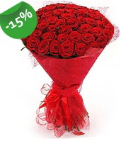 51 adet kırmızı gül buketi özel hissedenlere  Bayburt çiçek siparişi sitesi