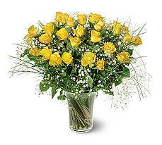Bayburt çiçek siparişi sitesi  15 adet sarigül mika yada cam vazoda