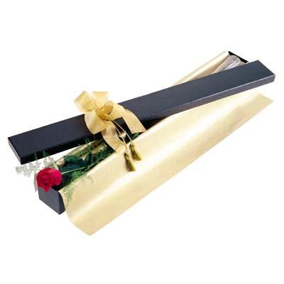 Bayburt uluslararası çiçek gönderme  tek kutu gül özel kutu
