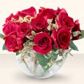 Bayburt çiçek online çiçek siparişi  mika yada cam içerisinde 10 gül - sevenler için ideal seçim -