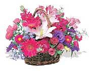 küçük karisik özel sepet   Bayburt çiçek online çiçek siparişi