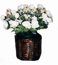 yapay karisik çiçek sepeti   Bayburt cicek , cicekci