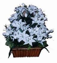 yapay karisik çiçek sepeti   Bayburt online çiçek gönderme sipariş