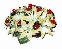 yapay karisik çiçek sepeti   Bayburt internetten çiçek siparişi