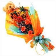 ayicik gül ve kir çiçekleri   Bayburt çiçekçi mağazası