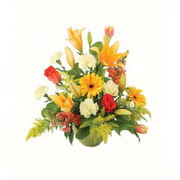 karisik renkli çiçekler tanzim   Bayburt çiçek gönderme sitemiz güvenlidir