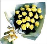 sari güllerden sade buket  Bayburt çiçek , çiçekçi , çiçekçilik