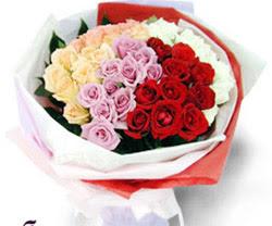 SEVENLERE ÖZEL 51 ADET GÜL  Bayburt internetten çiçek satışı