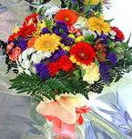 Bayburt hediye çiçek yolla  karma büyük ve gösterisli mevsim demeti