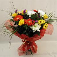 Bayburt hediye çiçek yolla  Karisik mevsim demeti