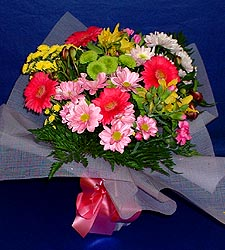 karisik sade mevsim demetligi   Bayburt 14 şubat sevgililer günü çiçek