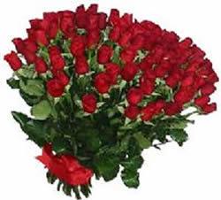 51 adet kirmizi gül buketi  Bayburt çiçekçiler