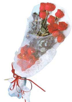 11 adet kirmizi güller buket tanzimi   Bayburt çiçek siparişi sitesi