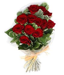Bayburt çiçek yolla , çiçek gönder , çiçekçi   9 lu kirmizi gül buketi.