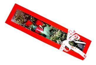 Bayburt hediye çiçek yolla  Kutuda 3 adet gül