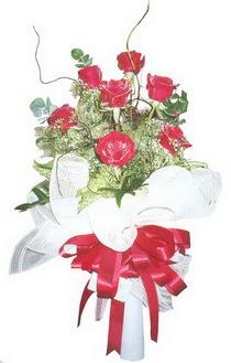 Bayburt çiçek siparişi sitesi  7 adet kirmizi gül buketi