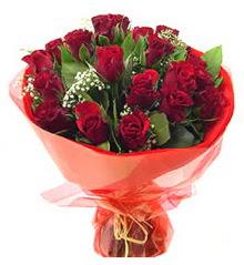 Bayburt anneler günü çiçek yolla  11 adet kimizi gülün ihtisami buket modeli