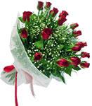 Bayburt internetten çiçek satışı  11 adet kirmizi gül buketi sade ve hos sevenler