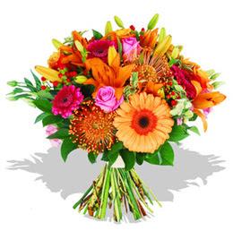 Bayburt çiçekçi telefonları  Karisik kir çiçeklerinden görsel demet