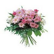 karisik kir çiçek demeti  Bayburt çiçek satışı