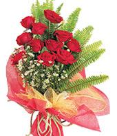 11 adet kaliteli görsel kirmizi gül  Bayburt çiçek satışı