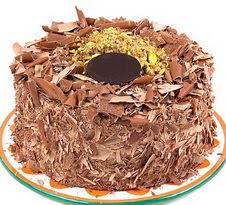 çikolatali 4 ile 6 kisilik yas pasta  Bayburt çiçek servisi , çiçekçi adresleri