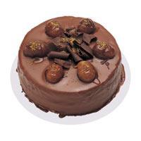 Kestaneli çikolatali yas pasta  Bayburt çiçek , çiçekçi , çiçekçilik