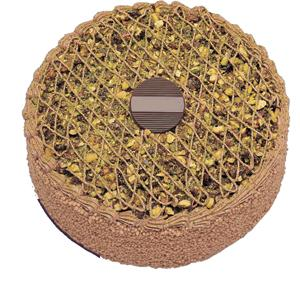 Krokanli 4 ile 6 kisilik yas pasta leziz  Bayburt çiçek gönderme