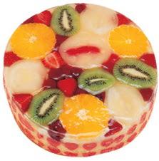 Meyvali 4 ile 6 kisilik yas pasta leziz  Bayburt hediye çiçek yolla