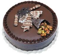 Çikolatali yas pasta 4 ile 6 kisilik  leziz  Bayburt çiçek mağazası , çiçekçi adresleri