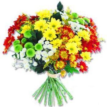 Kir çiçeklerinden buket modeli  Bayburt online çiçek gönderme sipariş