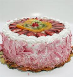 görsel pastacilar 4 ile 6 kisilik yas pasta karisik meyvali  Bayburt çiçek online çiçek siparişi