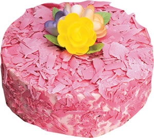 pasta siparisi 4 ile 6 kisilik framboazli yas pasta  Bayburt çiçek yolla