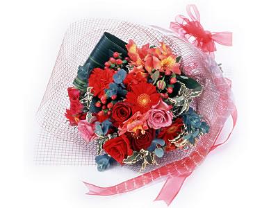 Karisik buket çiçek modeli sevilenlere  Bayburt uluslararası çiçek gönderme