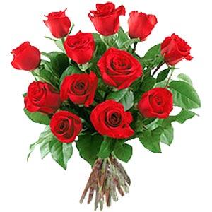 11 adet bakara kirmizi gül buketi  Bayburt güvenli kaliteli hızlı çiçek