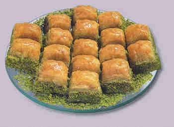 pasta tatli satisi essiz lezzette 1 kilo fistikli baklava  Bayburt internetten çiçek siparişi