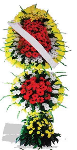 Dügün nikah açilis çiçekleri sepet modeli  Bayburt çiçek yolla