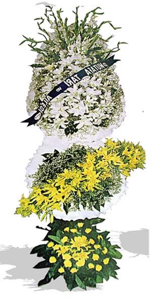 Dügün nikah açilis çiçekleri sepet modeli  Bayburt çiçek , çiçekçi , çiçekçilik
