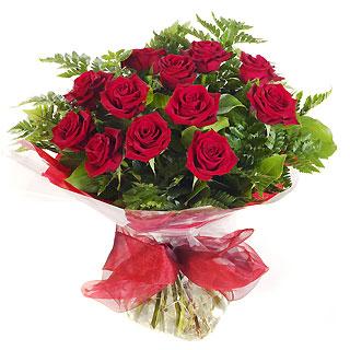 Ucuz Çiçek siparisi 11 kirmizi gül buketi  Bayburt çiçek online çiçek siparişi