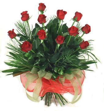 Çiçek yolla 12 adet kirmizi gül buketi  Bayburt güvenli kaliteli hızlı çiçek