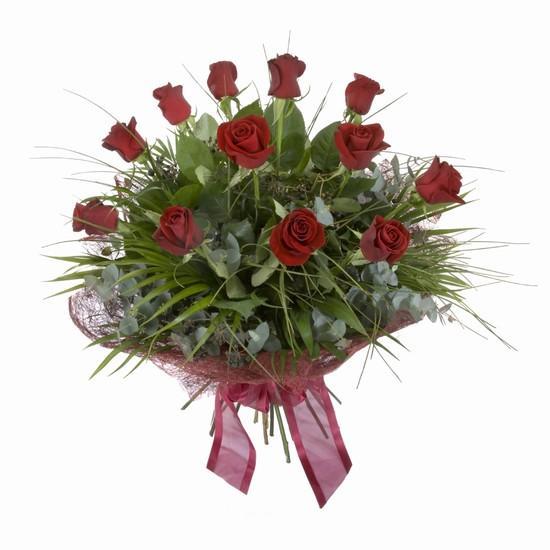 Etkileyici buket 11 adet kirmizi gül buketi  Bayburt internetten çiçek satışı