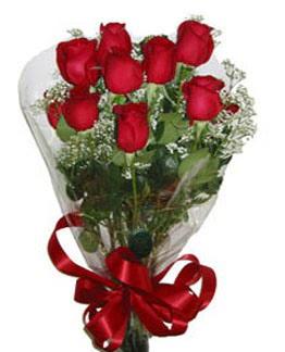 Çiçek sade gül buketi 7 güllü buket  Bayburt online çiçek gönderme sipariş