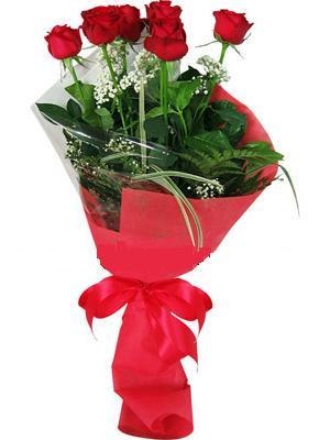 7 adet kirmizi gül buketi  Bayburt çiçek yolla , çiçek gönder , çiçekçi