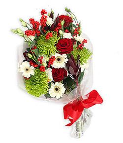 Karisik mevsim buketi çiçek tanzimi  Bayburt internetten çiçek siparişi