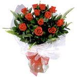 Bayburt çiçek , çiçekçi , çiçekçilik  9 adet güzel bir gül buketi