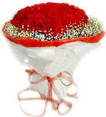 Bayburt çiçekçiler  41 adet kirmizi gül buketi