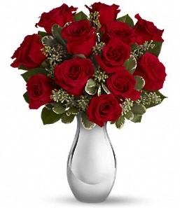 Bayburt çiçek siparişi vermek   vazo içerisinde 11 adet kırmızı gül tanzimi